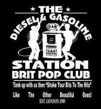 Suede Inspired T-Shirt  Brett Anderson Brit Pop Homage Diesel & Gasoline Station