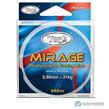 250m York Mirage lenza, monofilamenti corda, Big Game Fishing Line, Nuovo