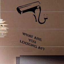 Banksy Cctv Decal Vinyl Wall Sticker Art Graffitti Street