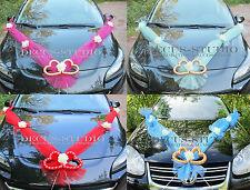 Girlande für Dekoration von Brautauto Hochzeit Autodeko Autoschmuck, AM001-XX