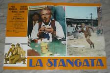 FOTOBUSTA, LA STANGATA The Sting NEWMAN, REDFORD,GOULD, ROY HILL, POSTER AFFICHE