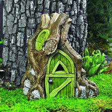 Fiddlehead Miniature Fairy Garden Accessories- Fairy Foyers For Trees Open Doors