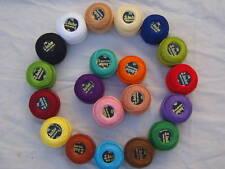 20 ANCHOR Ricamo Perle Cotone No.8 ) 20 Diversi Colori Occasione