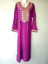 Abaya Maxikleid Kaftan arabisch Takschita Orient Kleid Jellabiya Jellaba Djelaba