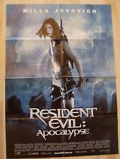 RESIDENT EVIL: APOCALYPSE - HORROR - Plakat A1 - Mila Jovovich