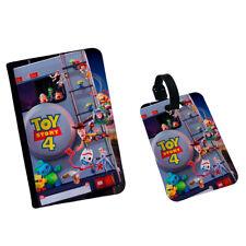 Toy Story 4 Outside Family Truck Disney Sheriff Buzz Passport Flip Cover Case