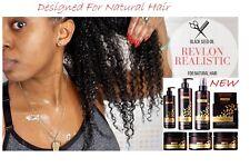 REVLON REALISTA Aceite de Semilla Negro Diseñado Para Cabello Natural (