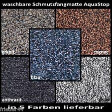waschbare SCHMUTZFANGMATTE AquaStop Fußmatte Sauberlaufmatte Baumwolle waschbar
