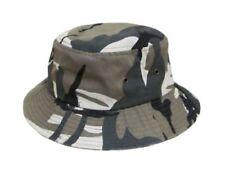 Bucket Hat Fishing Boonie Brim Visor Sun Summer Mens Womens Camping City Camo