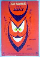LIVRE DE 1963, JEAN NARRACHE CHEZ LE DIABLE
