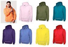 Classic Casual Hooded Sweatshirts Hoodies Hoody Sports Work Mens Ladies UC502