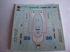 LIGIER JS 11 F1 1979 DECAL 1/43