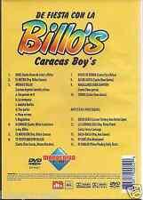 NEW dvd de fiesta con BILLO'S CARACAS BOYS Magallanes sera campeon ARIEL Caracas