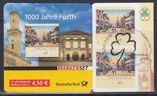 Federale MH 66 i timbrato 1000 anni Fürth 2007 solo tag timbro speciale (48 tacche)