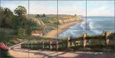 Ceramic Tile Mural Backsplash Paterson Seascape Scenic View Art Cpa015