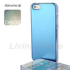 Blue Premium Quality daruma S-Pearl iPhone 5 Stylish Pearl Like Cover Case