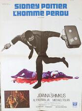 AFFICHE FILM L'HOMME PERDU - SIDNEY POITIER - 1969 petit format