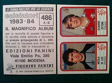 CALCIATORI 1983-84 83-1984 n 486 PERUGIA DI LEO OTTONI - Figurina Panini velina
