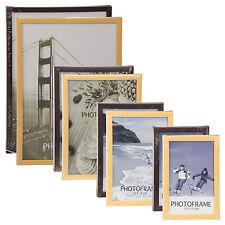 bois LOOK Cadre Photo Aperture Support libre montage mural CERTIFICAT