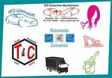 Logo Erstellung Erweiterung zu Angeboten Werbung Autobeschriftung Heckscheibe