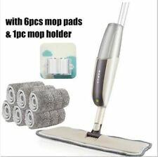 Floor Mop Spray Water Cleaner Microfibre Tiles Spraying Kitchen Pads Micro Fibre