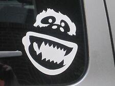 "Abominable Snowman Yeti Vinyl Decal Bumper Sticker Car Window Laptop 5"" 75042"
