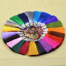 "(10 pcs/lot) 80mm(3.15"") Tassel Decorative Full length Charm For Jewelry Making"