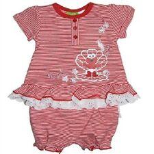 Baby Girl Sesame Street  Elmo Summer  2 Piece Outfit Set