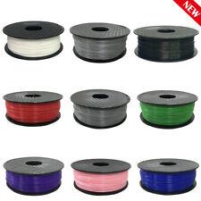 Colorful 3D Premium Printer Filament Supplies PLA/ABS Net weight 1KG 1.75/3.0mm