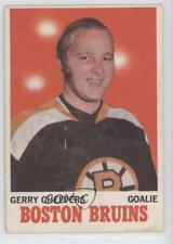 1970-71 O-Pee-Chee #1 Gerry Cheevers Boston Bruins Hockey Card