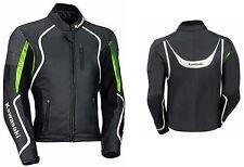 Giacca in pelle Kawasaki Motorrad Giacca di moto da corsa sportivo in pelle IT