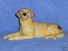 John Beswick Golden Retriever lying-mint-boxed-new-dog