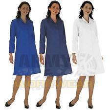 Ladies Lab / Work Doctors Medical Coat Hygiene Workwear Warehouse Industry Spec