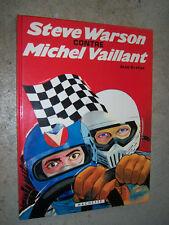 Steve Warson contre Michel Vaillant  Hachette 1981