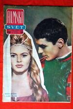 BRIGITTE BARDOT ALAIN DELON COVER 1961 EXYU MAGAZINE