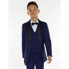 Slim Fit Page Boy Tuxedo For Wedding Proms Shawl Lapel Blazer Kids Handsome Suit