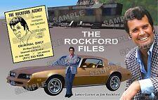 ROCKFORD FILES PRINT fan made James Garner 11 X 17
