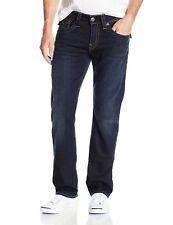 True Religion Jeans Men's Ricky w/flap Stretch Straight Rolling Water M0K859NKU3