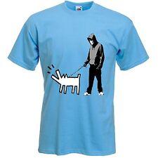 Banksy scegli la tua arma T-Shirt-Felpa con cappuccio con cane-Scelta di Colori