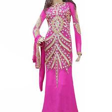 8723b9208fdb0eb 2019 Дубай современный jilbaba takshita свадебное платье вечеринки одежда  платье дл   женский 2032