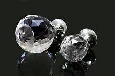 Kristall Griff Möbelknopf Möbelknöpfe Schrankgriffe Möbelgriffe Crystal, K-10