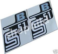 Aufkleber Simson S51 B