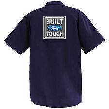 Built Ford Tough - Mechanics Graphic Work Shirt  Short Sleeve