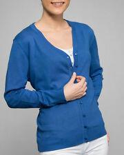 HS Fashion donne- sottile Cardigan Scollo a V 4302/2404