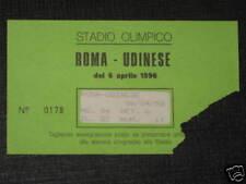 ROMA - UDINESE TICKET BIGLIETTO 1995/96 SERIE A
