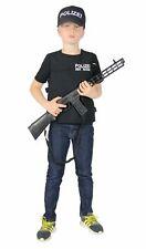 Polizeikostüm für Jungen Cop Police SEK SWAT Kinder Kostüm Polizei Gr. 110 -152