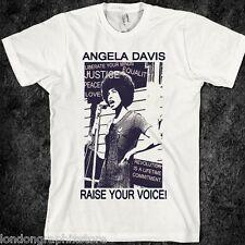 Angela Davis T-shirt, MLK, Ferguson, Mike Brown, Nelson Mandela, new, Malcolm X