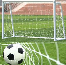 Football Soccer Goal Post Net For Kids Football Match Training White ST