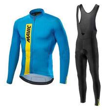 2019 Bike racing clothing long sleeve Men team cycling jerseys bib pants set Y77
