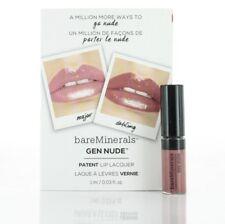 BareMinerals Gen Nude Patent Lip Lacquer Dahling 1ml SAMPLE LOT -CHOOSE QUANTITY
